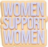 Crocs Support Women, Abalorios para Zapatos Unisex Adultos, Multicolor, Talla única