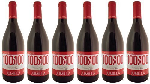 100X100 Jumilla Monastrell 2019 bio rotwein trocken (Murcia - Spanien) (6 x 750mL)
