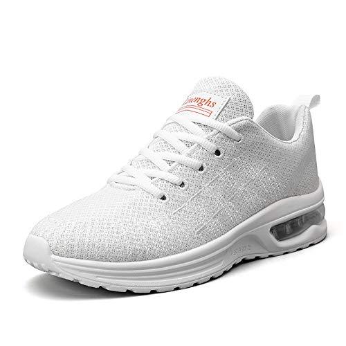 XIALIUXIA Zapatillas De Running Hombre Ligeras Colchón Aire Sport Casual Sneakers Zapatos De Seguridad Trabajo Calzado Deportivo,D,40