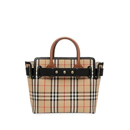 Burberry Luxury Fashion Donna 8018790 Beige Cotone Borsa A Mano | Primavera-estate 20