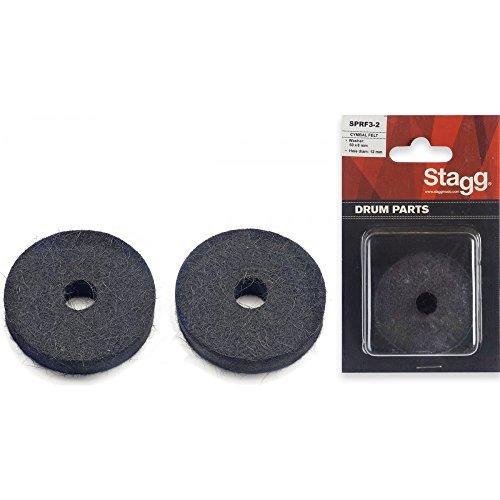 Stagg SPRF3-2 hoed stoel vilt wasmachine