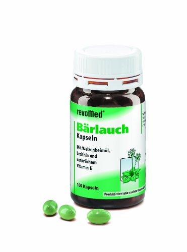 Revomed - Bärlauch Kapseln mit Weizenkeimöl, Lecithin und natürlichem Vitamin E