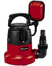 Einhell GC-SP 3580 LL Dompelpomp, 350 W, 8.000 liter per uur, vlakzuigend tot 1 mm, pompstart vanaf 8 mm, geïntegreerd terugslagventiel)
