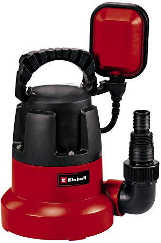 Einhell 4170445 Pompa Immersione a Fondo Piatto GC-Sp Ll, Prevalenza Max. 7.5 M, 350 W