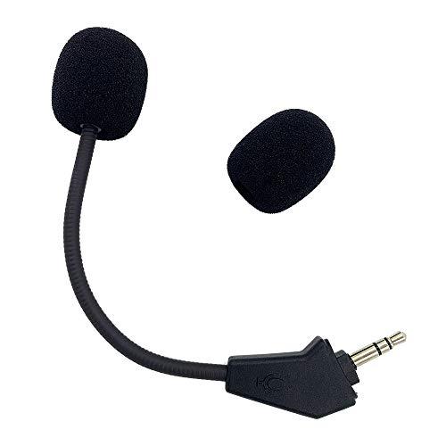 Repuesto de micrófono Corsair HS50, Aux 3,5 mm, piezas de reparación de espuma...