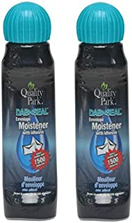 Quality Park Envelope Moistener With Adhesive, 2-Pack