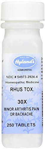 Best homeopathic rhus tox for 2021