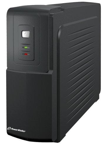 PowerWalker VFD 600 Sistema de alimentación ininterrumpida (UPS) 600 VA 2 Salidas AC - Fuente de alimentación Continua (UPS) (600 VA, 300 W, 170 V, 280 V, 220 V, 240 V)