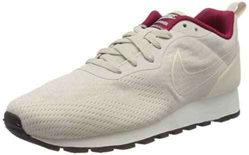 Nike MD Runner 2 Eng Mesh Wmns 916797-10, Zapatillas Mujer, Gris (Gray 916797/100), 40 EU