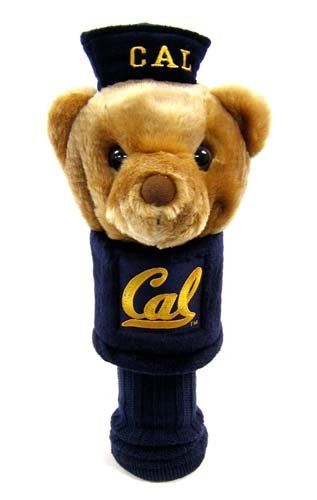Team Golf NCAA California Golden Bears Mascot Golf Club Headcover, Fits most Oversized Drivers, Extra Long Sock for Shaft Protection, Officially Licensed Product