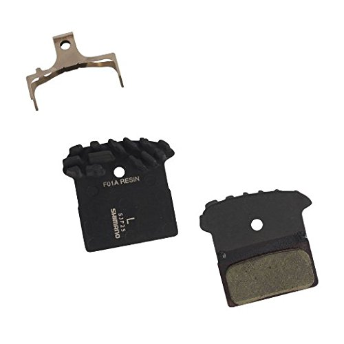 SHIMANO BR-M985 F01A Resin Disc Brake Pad with Spring and Fin