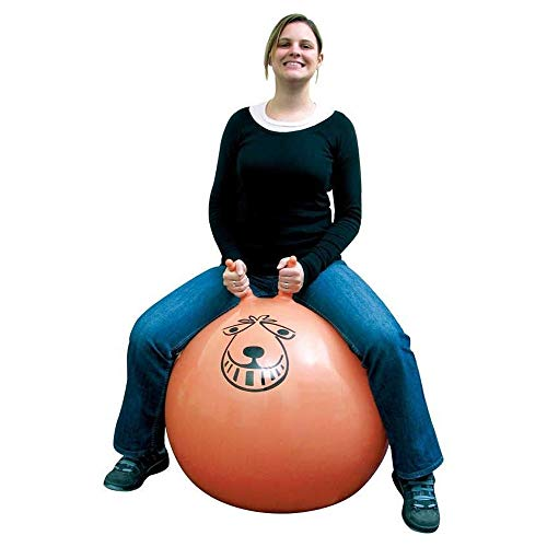 Denny International Large Retro Space Hopper Exercise Play Toy Ball Indoor...