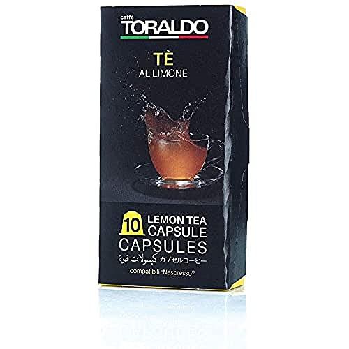 Caffè Toraldo Tè Limone Capsules Compatibili con 'Nespresso' 10 Capsules