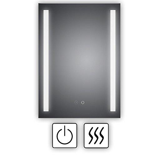 HOKO TOP Aktion  LED Badezimmerspiegel mit ANTIBESCHLAG SPIEGELHEIZUNG Borkum 60x80cm LED Bild 5*