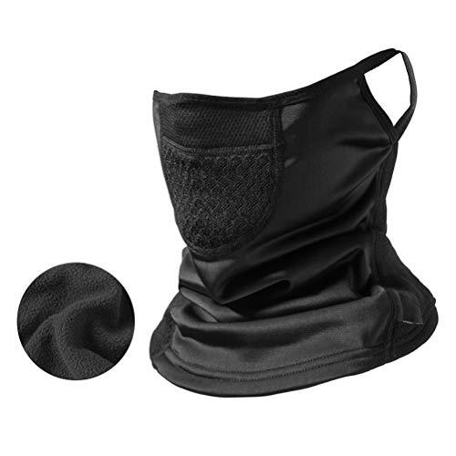 Kampre Warme paardrijmasker Half gezichtsmasker schild Ski winddicht halsdoek hoofddeksel