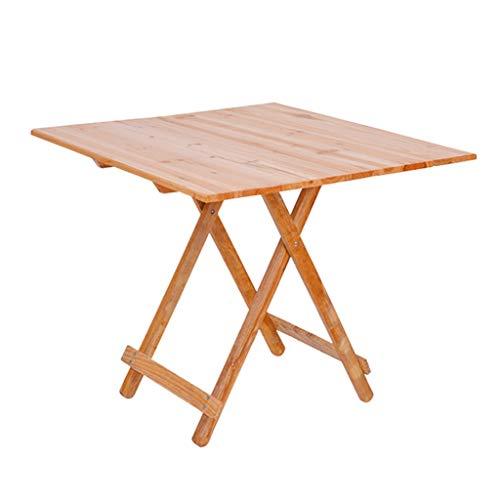 Tische Klapptisch Griff Tisch Picknick Im Freien Camping Picknicktisch Kleiner Haushalt Esstisch Studiertisch Erweiterbarer Küchentisch Natürlicher Umweltschutz Robustheit Gartenmöbel & Zubehör