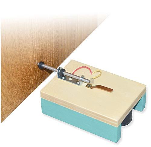 matches21 Einfache Alarmanlage Warnmelder als Holz Bausatz Bastelset Werkset f. Kinder ab 11 Jahren