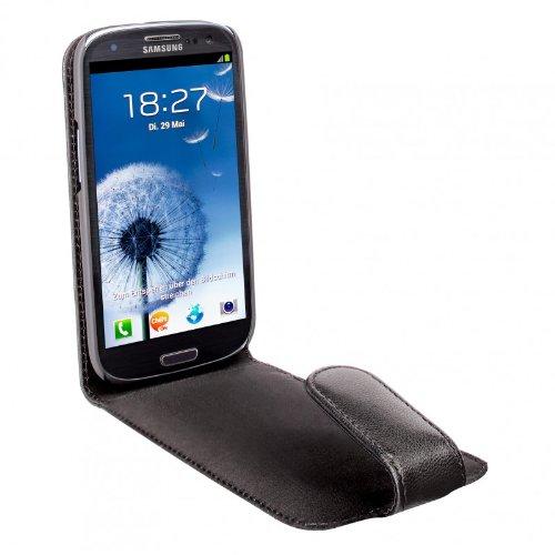 Artwizz SeeJacket® Leather FLIP Galaxy S III Libro Negro - Fundas para...
