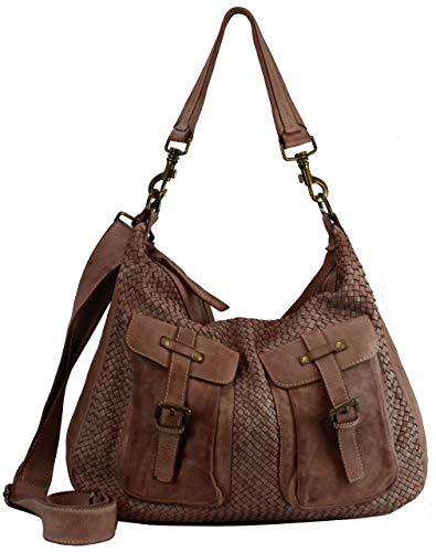BZNA Bag Emma Rose Italy Designer borsa da donna a tracolla borsa in pelle di pecora Shopper Nuovo