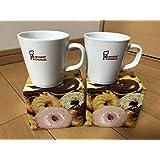 ミスド ペアマグカップ ミスタードーナツ 陶器製 非売品 コーヒーカップ