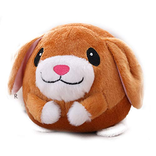 Dwigh Sprungspielzeug für Kinder, elektrisches Spielzeug, 120 Lieder, wiederaufladbar, Cartoon-Sprung, süßes Spielzeug, USB-Ladekabel für Kinder hund