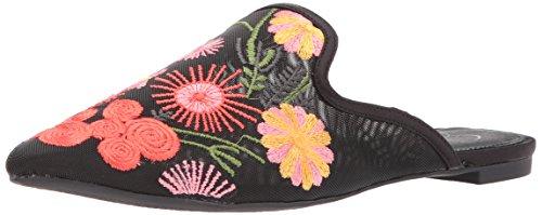 Jessica Simpson Women's Zander Mule, Black, 6.5 Medium US