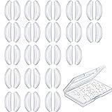 20 Pares 2,5 mm Almohadillas de Nariz en Forma de Mariposa de Gafas Almohadillas de Nariz Adhesivas...