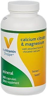 Calcium Citrate Magnesium (300 Capsules) by The Vitamin Shoppe