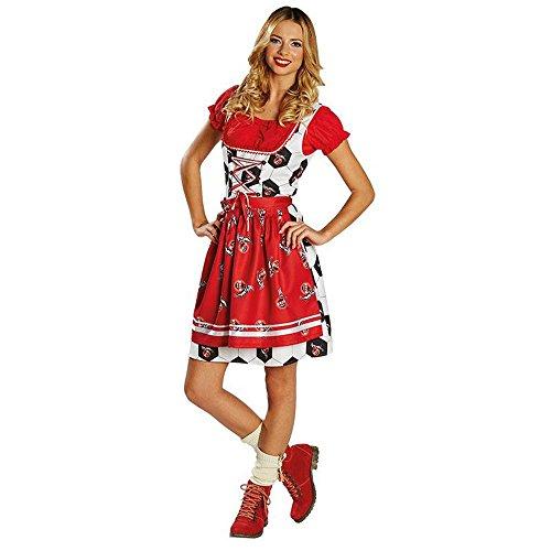 Rubies 380308 DAMEN Kostüm * 1. FC Köln Dirndl * Oktoberfest,Tracht, Fan * Wiesn (38)