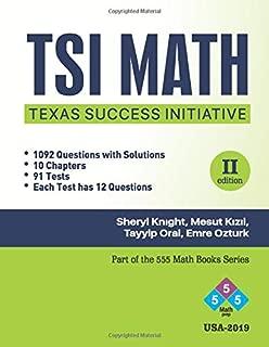 TSI Math: College for All TSI Math (555 Math Books Series)