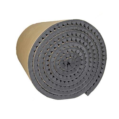 KANGjz Schalldämpfer Anti-Lärm Akustikraum Behandlung, Portable Sound-absorbierende Baumwolle Indoor Fire Prevention Noppenschaumstoff Schalldämmbaumwolle (Color : Gray)