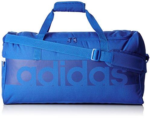 adidas Erwachsene Team-Tasche Tiro Linear, Blue/Bold Blue, 22 x 57 x 30 cm, 37.6 L, B46120