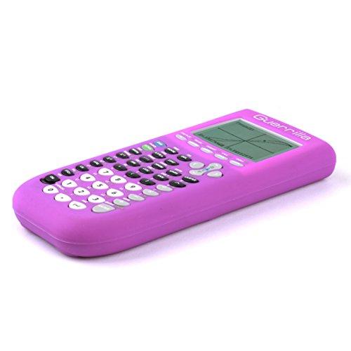 Guerrilla Silicone Case for Texas Instruments TI-84 Plus Graphing Calculator, Purple Photo #3