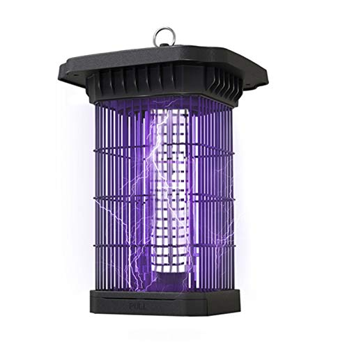 2020 Newest Electric Bug Zapper 4000V, Powerful Mosquito Killer w/ 18W LED UV Light, Large Insect Lamp, Pest Control System, Metal Gnat Trap Fly Catcher - IPX4 Waterproof - 1/2 Acre