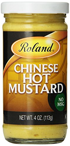 Roland Chinese Hot Mustard, 4 Ounce (Pack of 6)