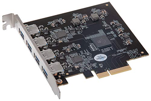 Sonnet Allegro Pro USB 3.1 PCIe Card (4x10GB Charging Ports)