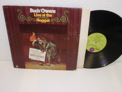 BUCK OWENS Live At The Nugget LP Capitol...