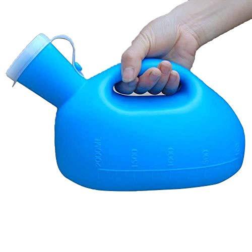Botella Urinario Urinario El hombre antiguo de urinal la botella boca es redonda y lisa for evitar rayar la piel con el diseño de la cubierta a prueba de fugas desodorante adecuado for viajar personas