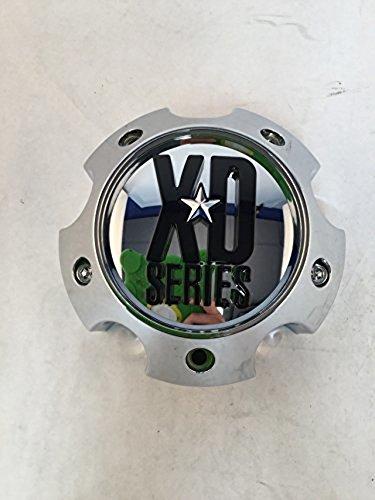 XD SERIES KMC 796 797 798 Chrome 5 Lug Wheel Rim Center Cap 1079L140A