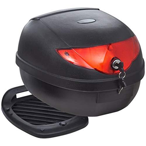 FAMIROSA Motorradkoffer 36 L für einen Helm