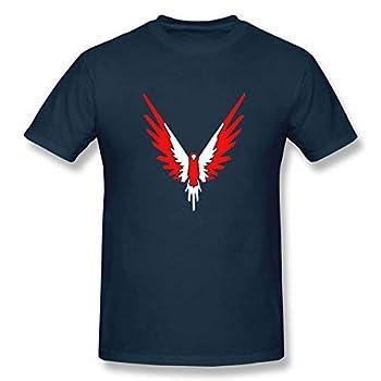 Logan Paul Maverick Fashion Mens Short Sleeve T Shirts Navy