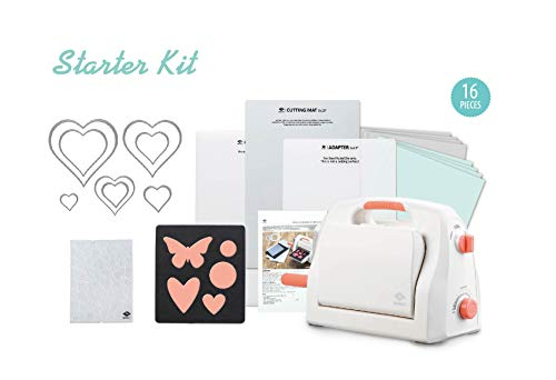 """Bira Craft Adjustable Die Cutting & Embossing Machine Starter KIT, 9"""" Opening, Paper, Fabric and Other Materials (Starter Kit)"""
