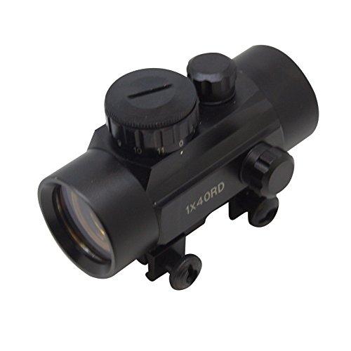 Southland Archery Supply SAS 1x30mm 3-Dot Red Dot Scope Sight Weaver Rail