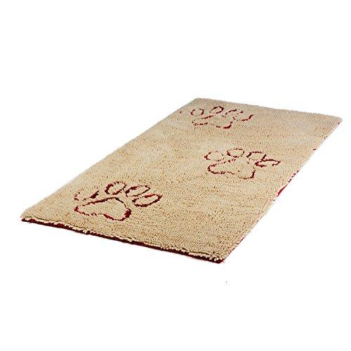 Dirty Dog Runner smart beige Hunde Schmutzfangmatte Hundematte Hundedecke XL: 120 x 60 cm