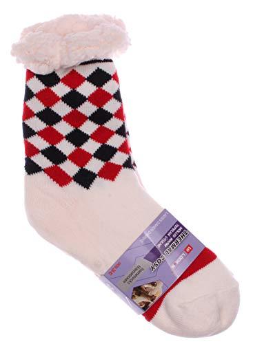 UK Looken gevoerde gebreide sokken, huttsokken