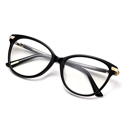 AVAWAY Occhio di Gatto Blocco Della Luce Blu Occhiali Donna Occhiali UV400, Montatura in Acetato
