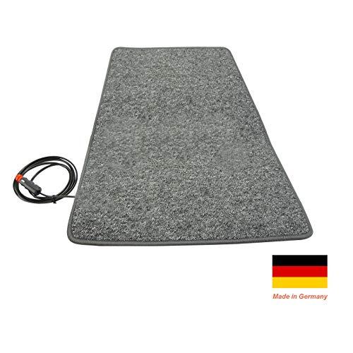 Auto 12V verwarmd tapijt 60cm 60x100cm Anthrazit