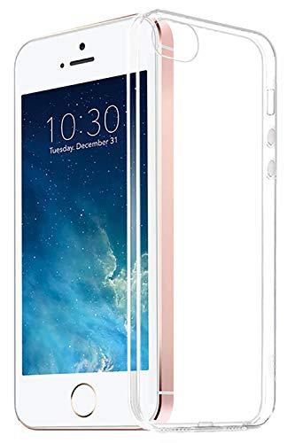 〔Sweetleaff〕 iPhone SE 5 5s ケース スマホケース スマホカバー クリア 携帯 カバー アイフォン アイホン ソフト クリアケース 耐衝撃 薄型 TPU (iPhone SE)