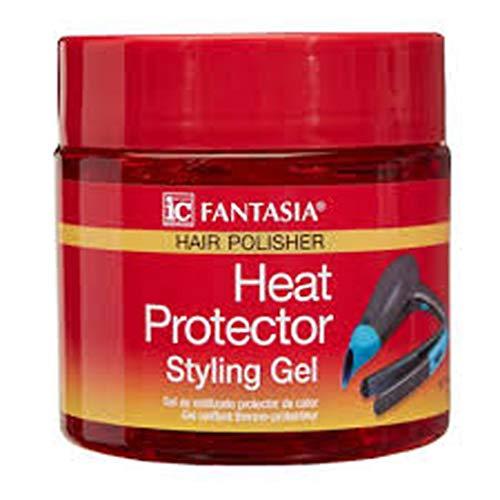 Fantasia IC Heat Protector Styling Gel 16 Oz.