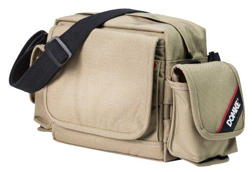 Domke Crosstown Courier Shoulder Bag for DSLR/CSC Camera - Codura Tan/Black